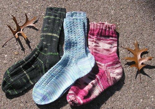 Soctoberfest Socks