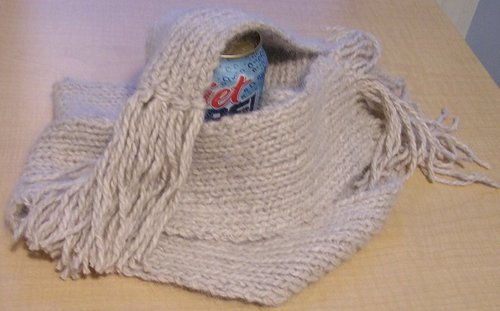 Purl Scarf